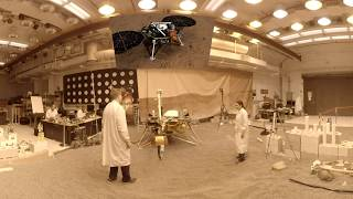 Engineering For Mars: NASA InSight Mission Test Lab (360 Video)