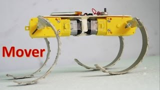 How to make a all-surface moving Robot- The Mover - DIY Robot