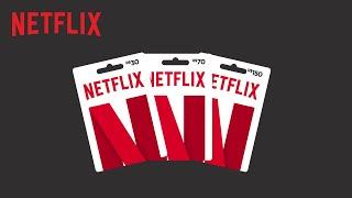 Cartão pré-pago Netflix | Vídeo explicativo