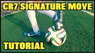 Learn AMAZING Skills #5: Cristiano Ronaldo Signature Move | CR7 Skill Tutorial | by 10BRA