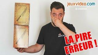 LA PIRE ERREUR DE YOUTUBER !! + UNBOXING SPECIAL !