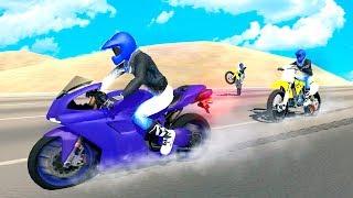Bike Racing Games - Dirt Bike Rider Stunt Race 3D - Gameplay Android free games
