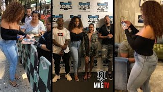 "Charmaine Interviews With ""The Breakfast Club"" In New York (2018)"
