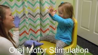 Speech Therapy - Oral Motor Stimulation