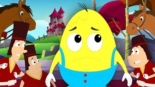 Humpty Dumpty Sat On A Wall | Nursery Rhymes For Childrens | Kids Songs
