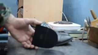 Как сделать набойки на мужские туфли. Ремонт обуви своими руками - PakTune World's #1 Video Portal Fastest streaming website