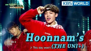Hoonnam's (THE UNI+) -  ALL DAY [Music Bank Special Stage / 2018.01.19]