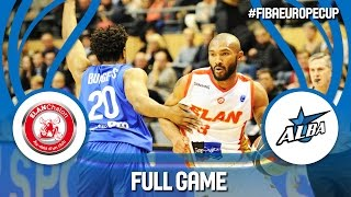 Elan Chalon (FRA) v Alba Fehérvár (HUN) - Full Game - FIBA Europe Cup 2016/17