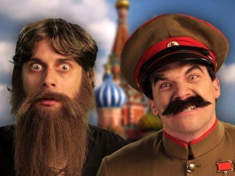 Rasputin vs Stalin.  Epic Rap Battles of History Season 2 finale.
