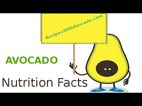 Avocado Nutrition Facts And Benefits