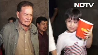 Child Actor Matin Rey Tangu Watches Tubelight With Salim Khan