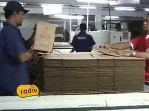 Matéria Caixas de Papelão