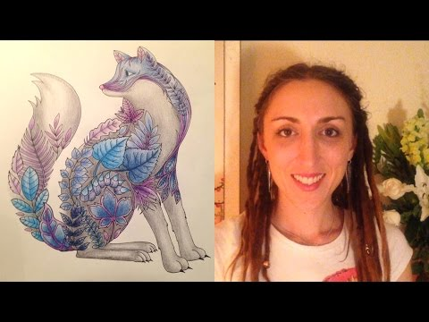 How to colour in with pencils. Crisanne's Colouring Class for Adults - Episode 1
