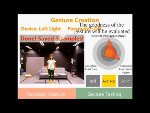 CUBOD: A Customized Body Gesture Design Tool for End Users (BHCI 2013)