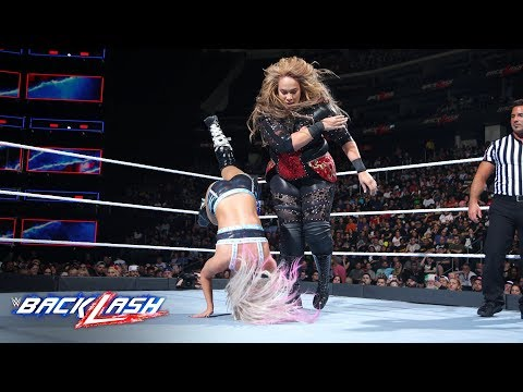Xxx Mp4 Nia Jax Levels Alexa Bliss With A Crushing Clothesline WWE Backlash 2018 WWE Network Exclusive 3gp Sex