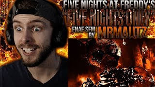 "Vapor Reacts #786 | [SFM] FNAF 3 SONG REMIX ANIMATION ""Five Nights Only"" by MrMautz REACTION!"