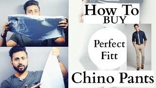 Men's fashion| Chino pants |How to buy |  Men's Wardrobe Series Epesode 1 | MensTrends