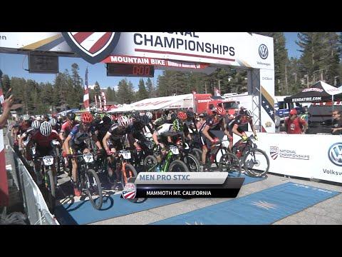 Mens STXC Pro First Lap 2016 Volkswagen Mt Bike Nationals