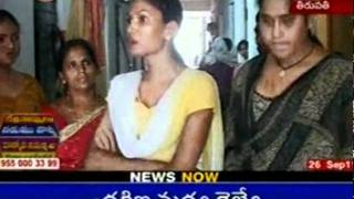 Rowdy Sheeters Torturing Hijra's for Money at Tirupathi
