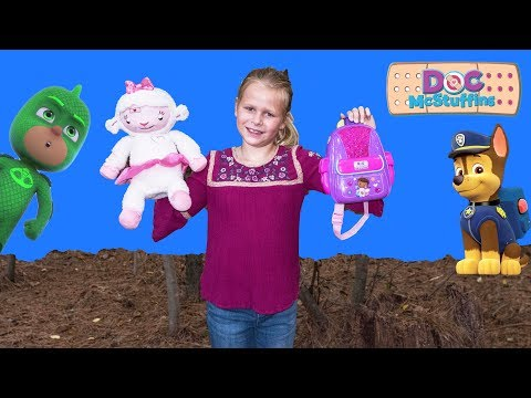 Xxx Mp4 ASSISTANT Doc McStuffins First Responders Backpack With Paw Patrol PJ Masks Puppy Dog Pals 3gp Sex