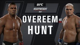 UFC 209: Overeem vs. Hunt (full fight)