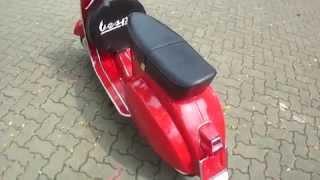Classic Vespa Mini 50cc in Signal Red - ID: SV#084 - www.starvespa.com