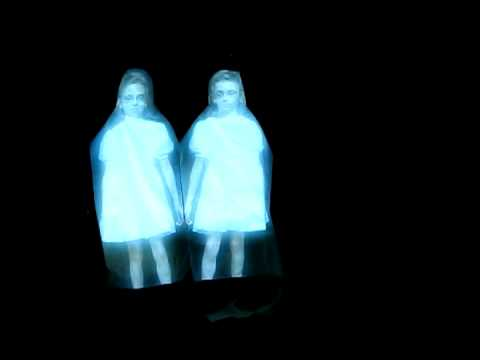 Homemade Twins from The Shining hologram