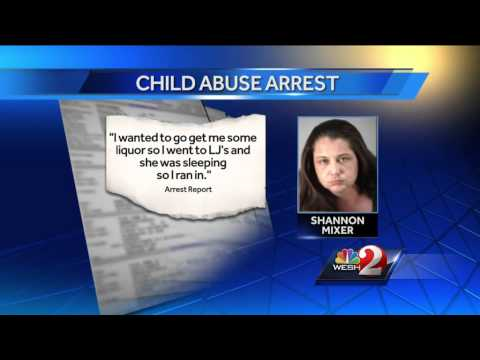 Mom tells cops she left 1-year-old in car to buy liquor, cigarettes
