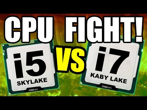 CPU FIGHT i7 vs i5 Why You NEED an i7 For Gaming… & Twitch Streaming