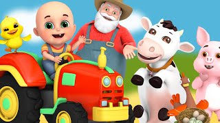 Old Macdonald Had a Farm - Learn English with songs for Children by Jugnu Kids