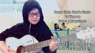 Surat Cinta Untuk Starla - Virgoun (Gitar Cover)With Lirik