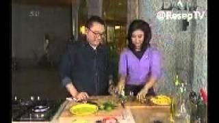 Resep Masakan Ikan Vegan Lapis Nori Sambel Mangga
