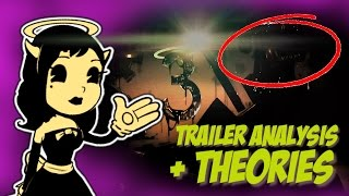 Bendy and the Ink Machine CHAPTER 3 | Trailer Analysis and Theories (Alice Angel?!)