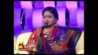vasanth and pavithra folk round in maanaada mayilaada season 10