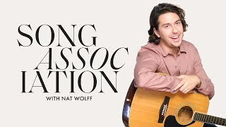 Nat Wolff Sings The Beatles, Bruce Springsteen and R.E.M in a Game of Song Association | ELLE