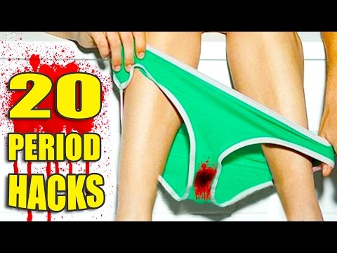 20 Period Life HACKS 🌺 All Girls Need to Know!
