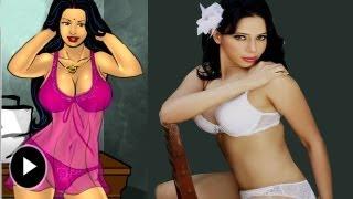 Rozlyn Khan New Avtar Savita Bhabhi Porn Toon