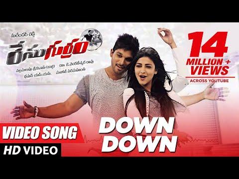 Xxx Mp4 Race Gurram Songs Down Down Full Video Song Allu Arjun Shruti Hassan S S Thaman 3gp Sex