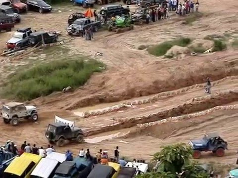 COMPETENCIA DE 4X4 EN LA FRAGUA