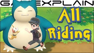 All 18 Rideable Pokémon in Pokémon Let