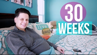 Feeling Nervous & On Bed Rest | 30 Weeks Pregnant with Twins