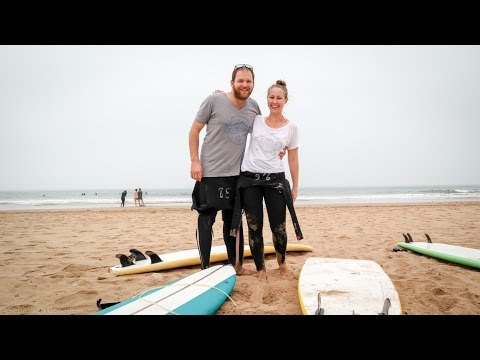 ERSTER TAG IM SURFCAMP IN TAGHAZOUT