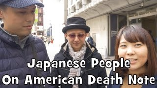 Japanese React to Netflix Death Note (2017) (Interview)