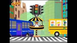 Nursery Rhymes Top Hit    Stop Says Red Light Traffic Signal