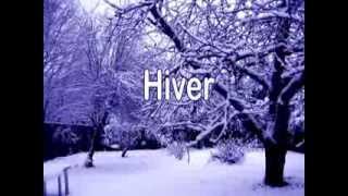 les saisons - Printemps- Etés - Automnes - Hivers - de Pierre Lozère