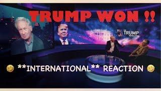 Trump WON!! **International** Reaction *{STRESS + FEAR}*