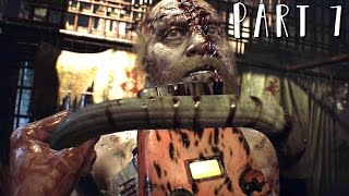 RESIDENT EVIL 7 Walkthrough Gameplay Part 7 - Dissection Room / Jack Boss (RE7)