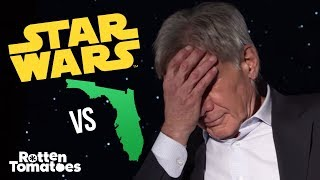 """The Force Awakens Cast Plays """"Star Wars or Florida?"""""""