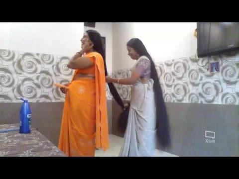 indianlonghairworld Live Stream - Meet our Real Rapunzel Ganga