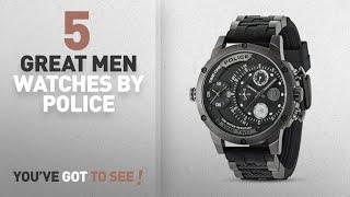 Top 10 Police Men Watches [ Winter 2018 ]: Police ADDER PL14536JSU.BAT Mens Wristwatch